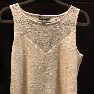 A Pea in The Pod Maternity Lace Tank
